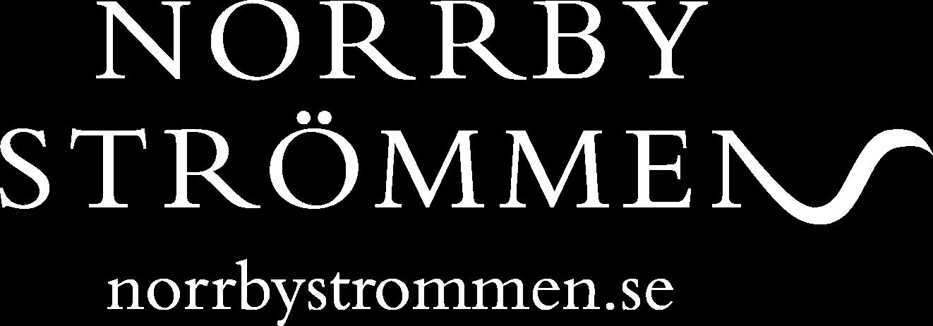 Norrbyströmmen white logo